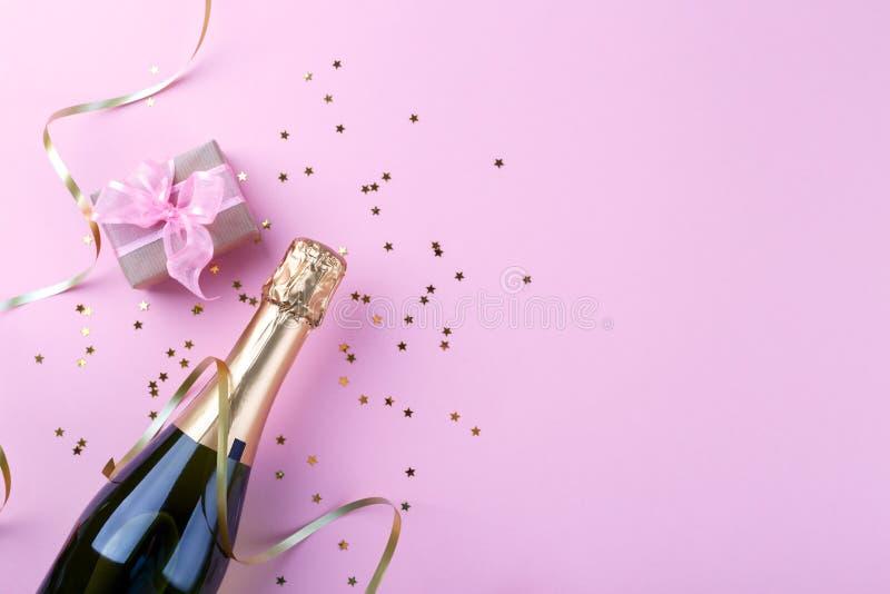 Bouteille de champagne photos libres de droits