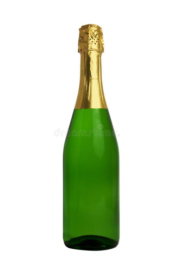 Bouteille de Champagne (chemin de découpage) image stock