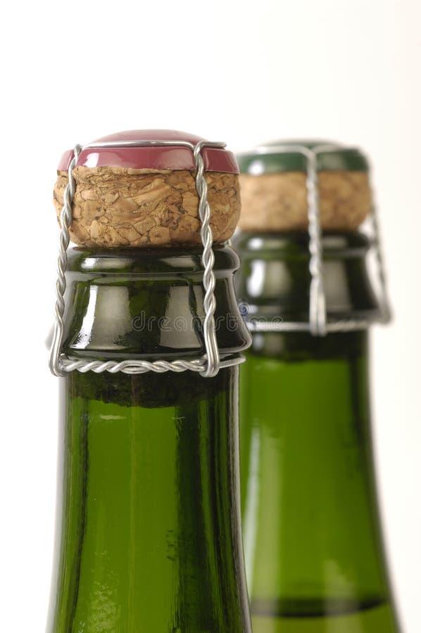 Bouteille de cidre images stock