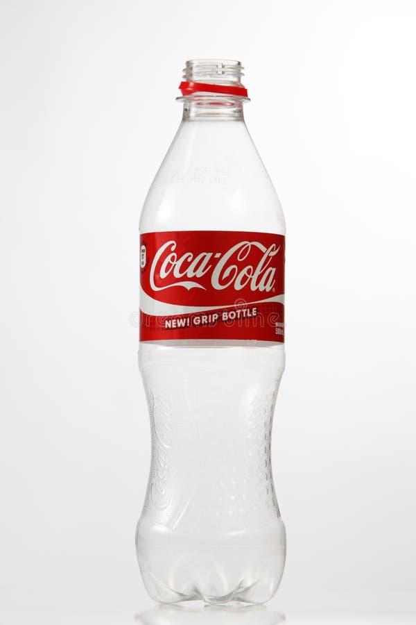 Bouteille de coca-cola image stock