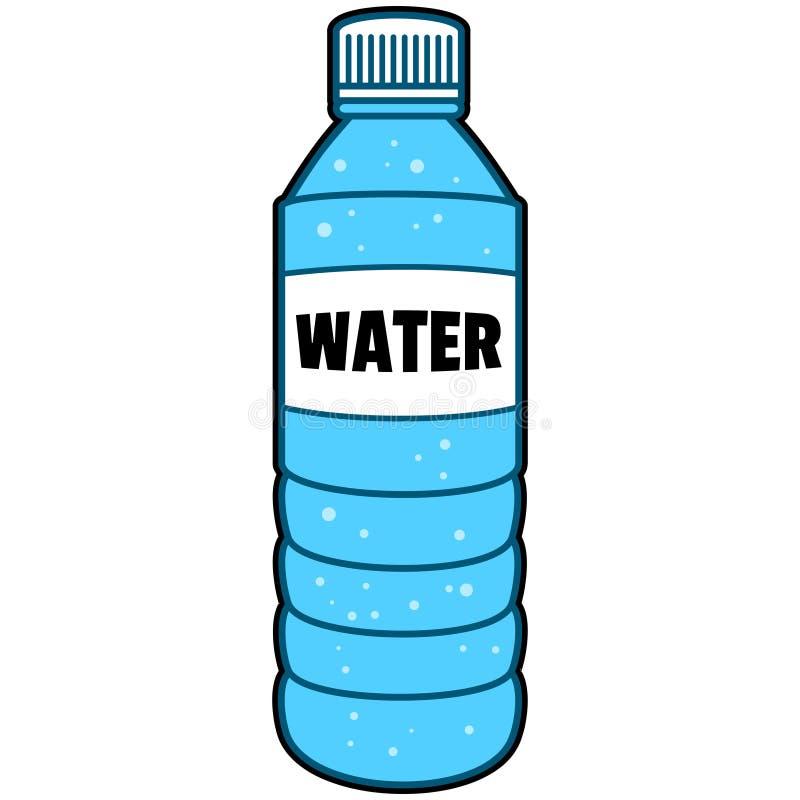 Bouteille de l'eau illustration libre de droits