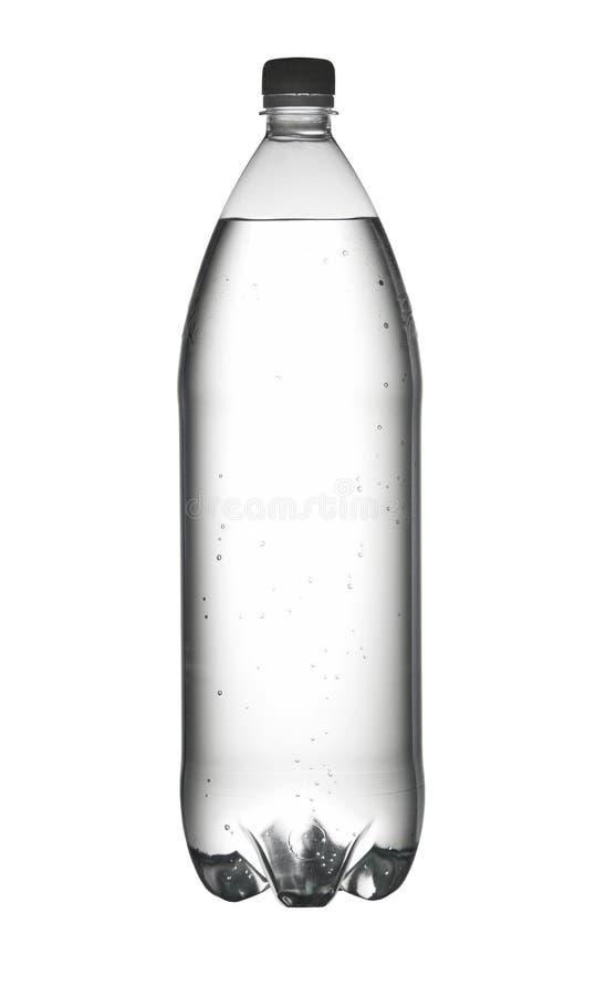 Bouteille de l'eau d'isolement sur le blanc photo stock