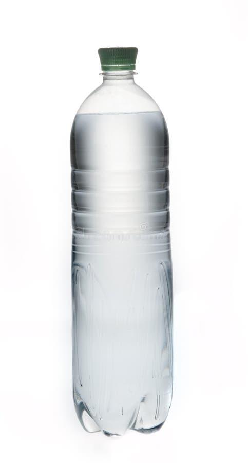 Bouteille de l'eau minérale de bicarbonate de soude photo stock