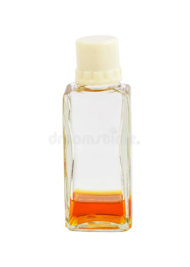 Bouteille de parfum de cru photos stock