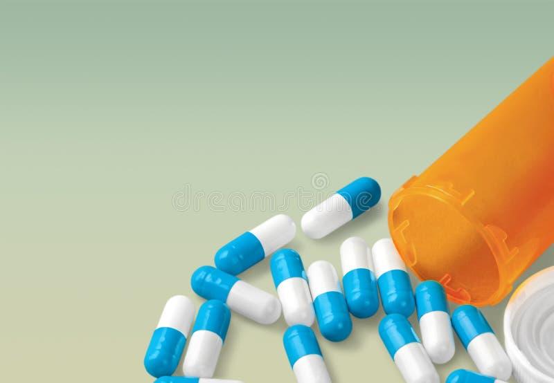 Bouteille de pilule image libre de droits