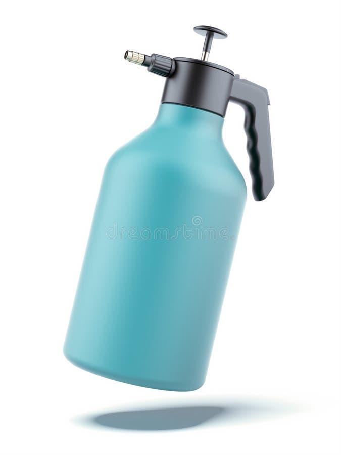 bouteille de pompe-pulvérisateur illustration de vecteur