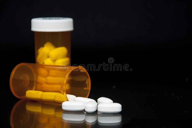 Bouteille de prescription photographie stock libre de droits