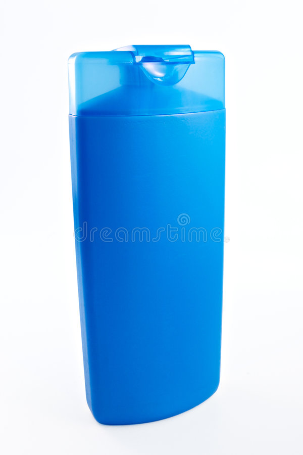Bouteille de shampooing photographie stock