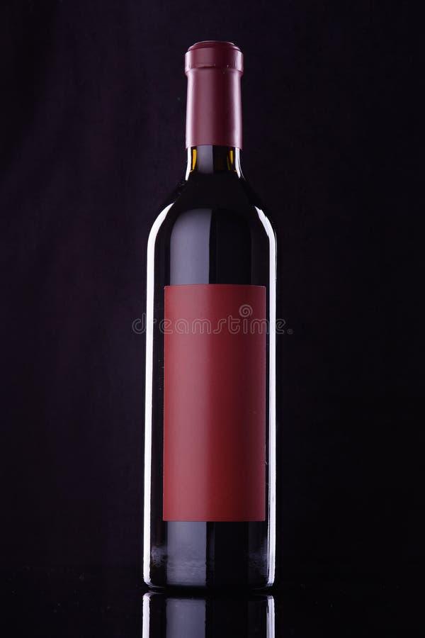 Bouteille de vin photographie stock