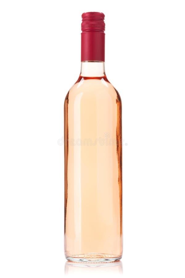 Bouteille de vin de Rose photos libres de droits