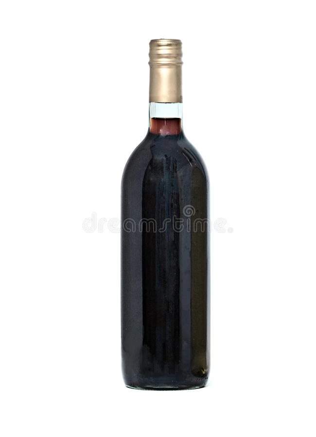 Bouteille de vin rouge photographie stock libre de droits