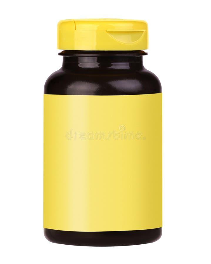 Bouteille de vitamine images libres de droits