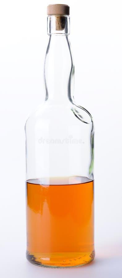 Bouteille de whiskey photo stock