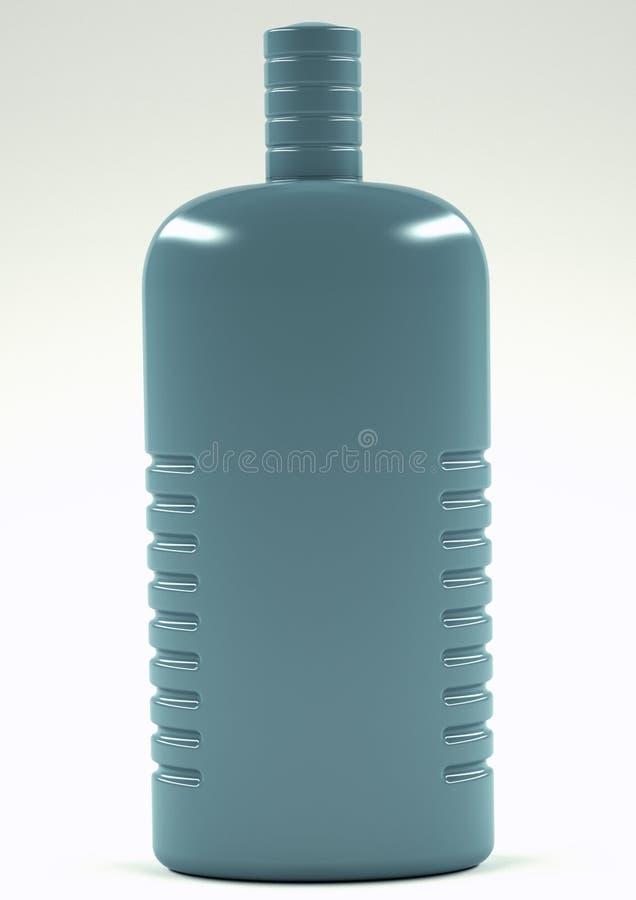 bouteille du plastique 3d photos stock