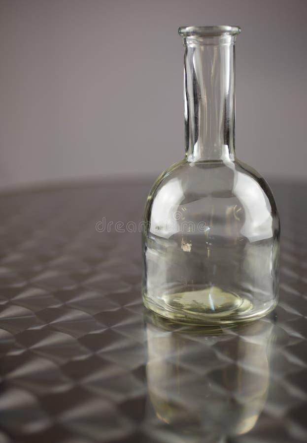 Bouteille en verre photo libre de droits