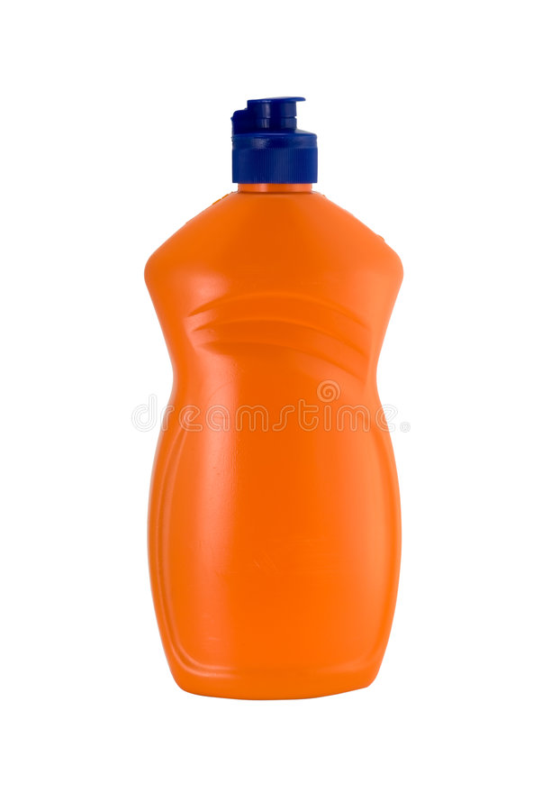Bouteille orange image libre de droits