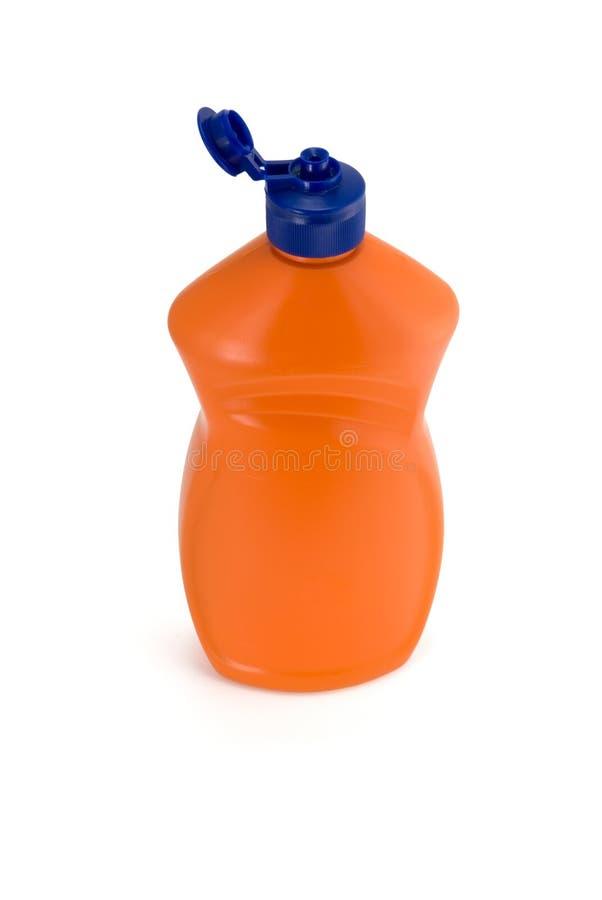 Bouteille orange image stock