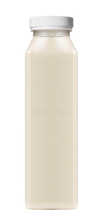 Bouteille platic de souce de mayonnaise d'isolement image stock