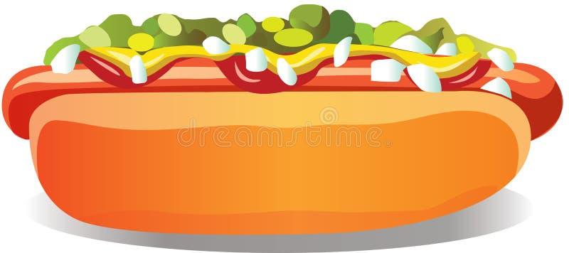 Bouteilles de ketchup et de moutarde à l'arrière-plan image stock