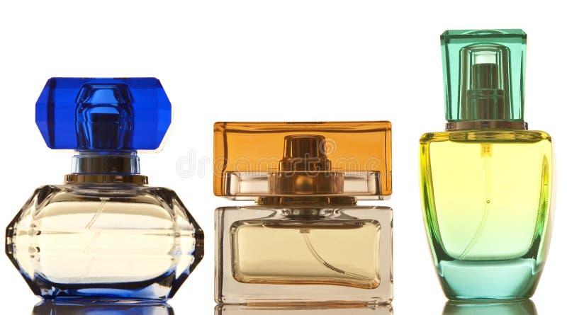 Bouteilles de parfum photos stock