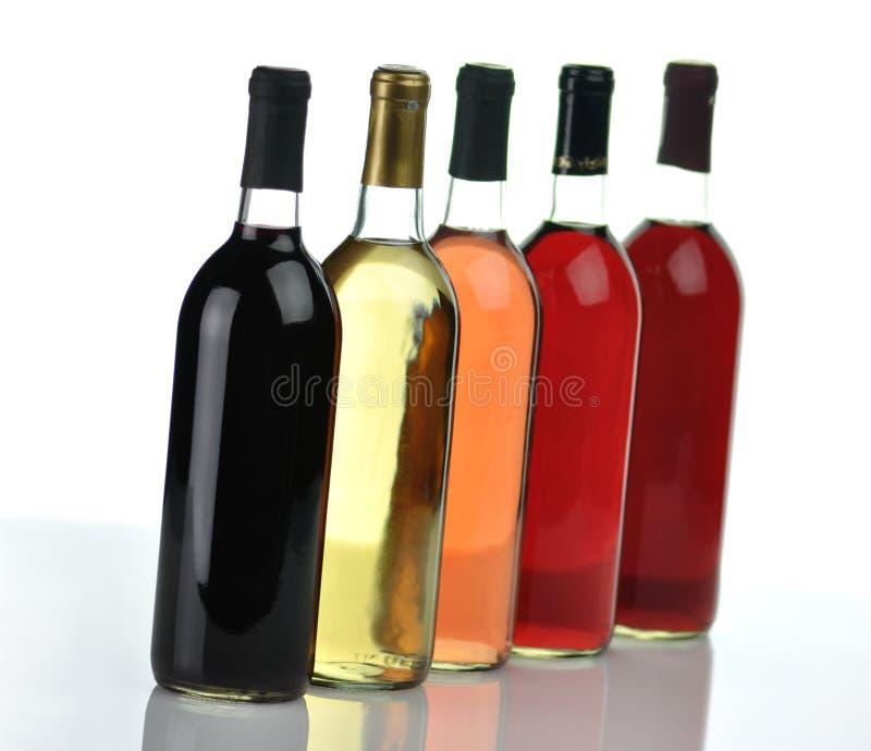 Bouteilles de vin image stock