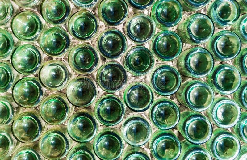 Bouteilles en verre photo stock
