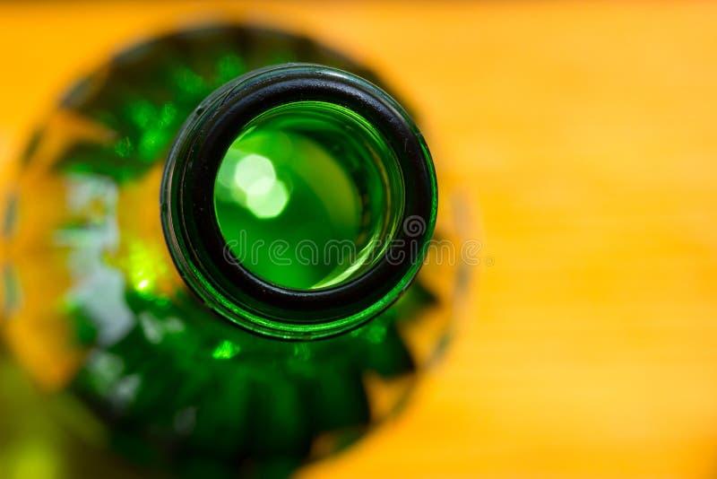 Bouteilles en verre de bière photo libre de droits