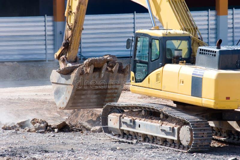 Bouteur de construction photos stock