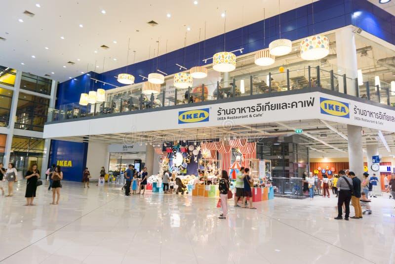 Boutique avant de brnach d'IKEA Bangna dans Bangna méga photo libre de droits