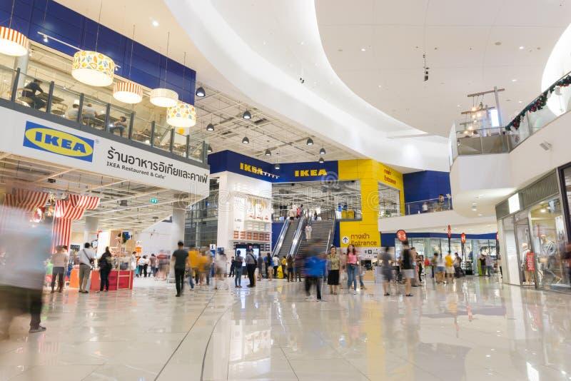 Boutique avant de brnach d'IKEA Bangna dans Bangna méga photos stock
