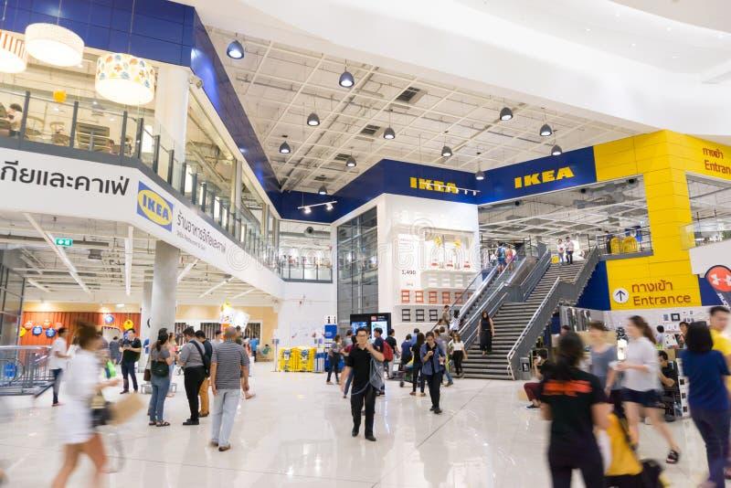 Boutique avant de brnach d'IKEA Bangna dans Bangna méga photographie stock libre de droits