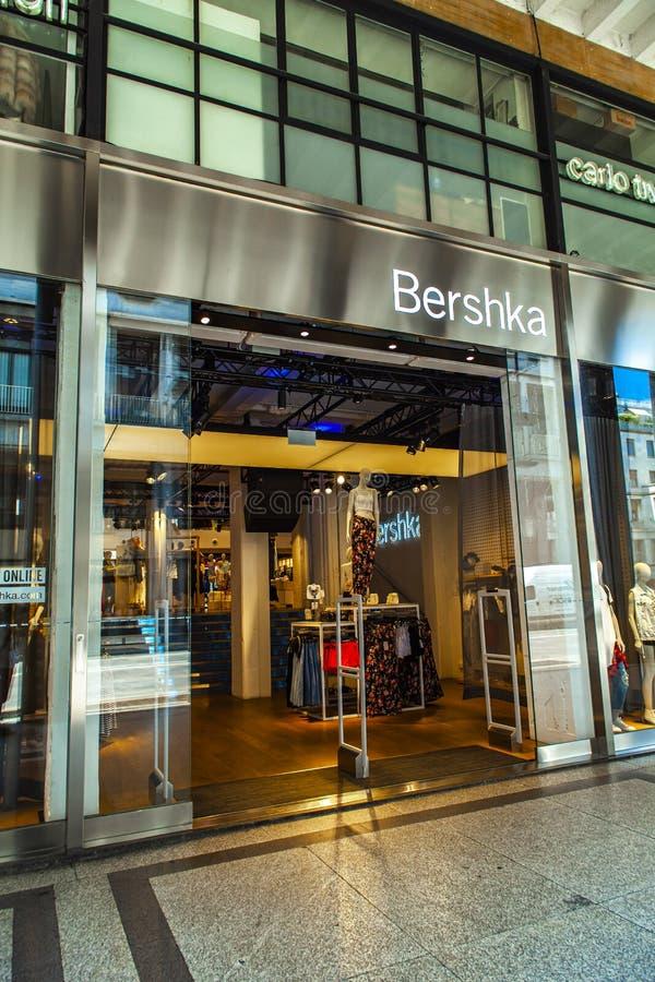 Boutique Bershka image libre de droits