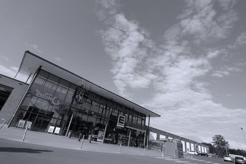 Boutique d'Edeka en Allemagne photos stock