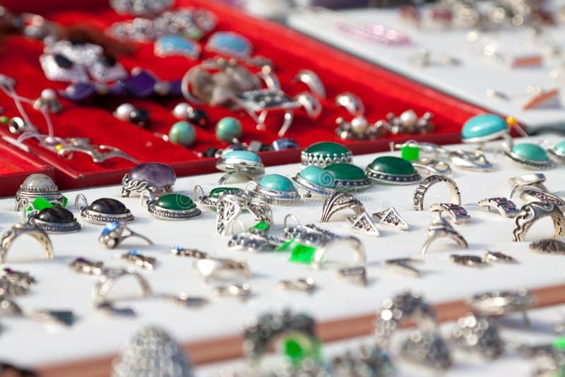 Boutique de bijoux photos stock