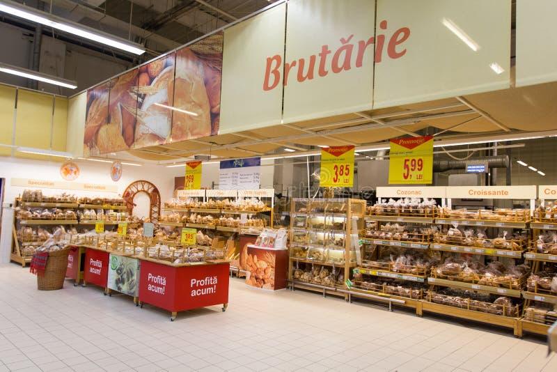 Boutique de boulangerie images libres de droits