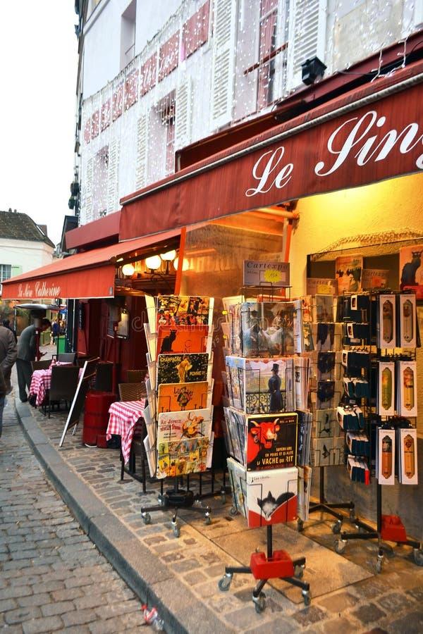 Boutique de cadeaux au coeur de Paris photos stock