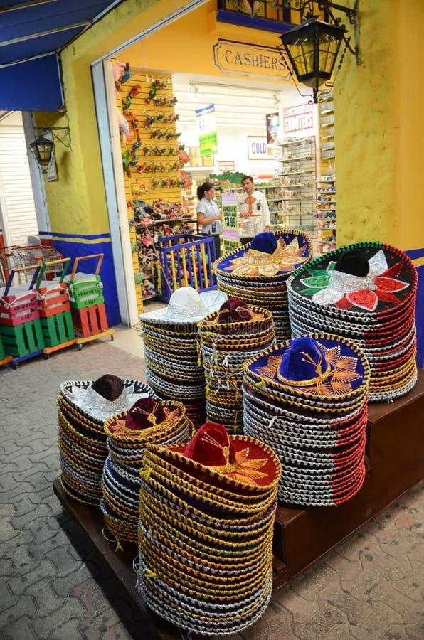 Boutique de cadeaux au Mexique photo libre de droits