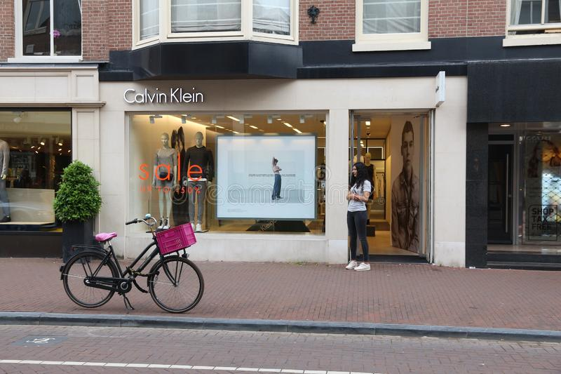 Boutique de Calvin Klein photos stock