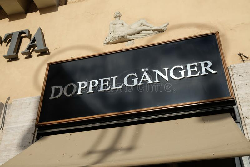 Boutique de Doppelganger image stock