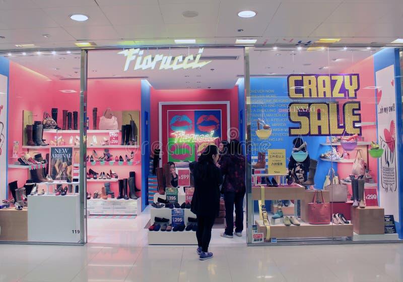Boutique de Fiorucci à Hong Kong photo libre de droits