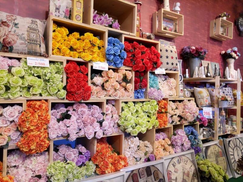 Boutique de fleurs photos libres de droits