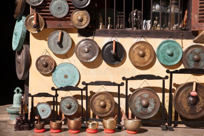 Boutique de gong images stock
