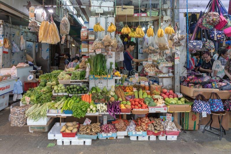 Boutique de légumes image stock
