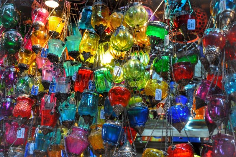 Boutique de lampe photos stock