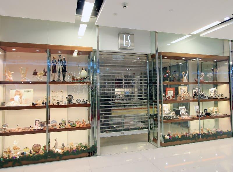 Boutique de LS à Hong Kong photos libres de droits