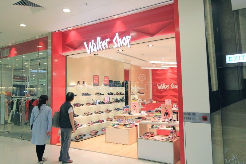 Boutique de marcheur à Hong Kong image stock