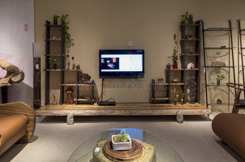 Boutique de meubles images stock