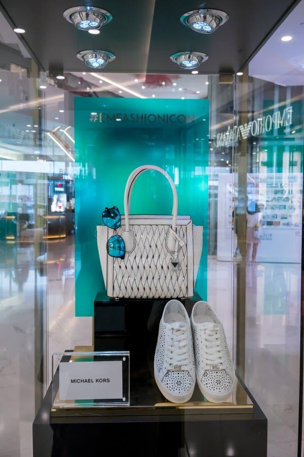 Boutique de Michael Kors chez Emquatier, Bangkok, Thaïlande, le 8 mars 2018 photo stock