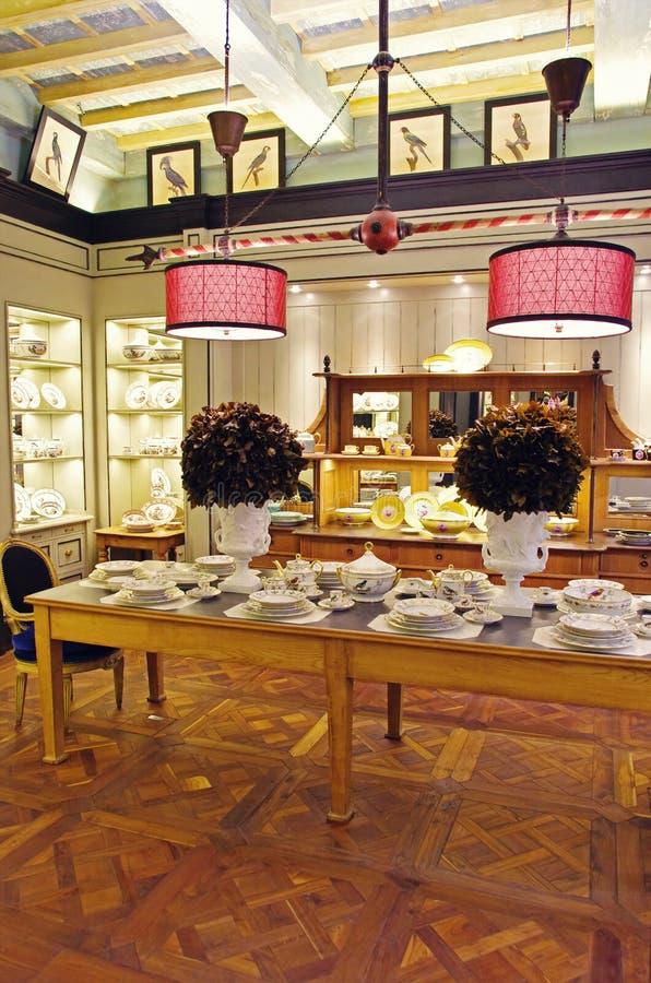 Boutique de poterie images stock