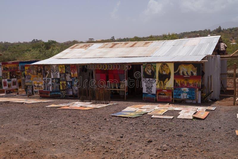 Boutique de souvenirs d'hutte photo libre de droits